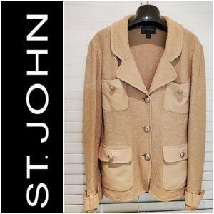 St JOHN Knit Jacket Blazer